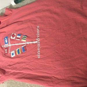 flags short sleeve shirt